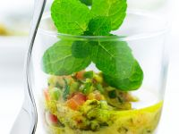 Vegetable Salad with Curry Dressing