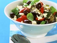 Vegetable Salad with Feta recipe