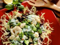Vegetable Salad with Frisee Lettuce recipe
