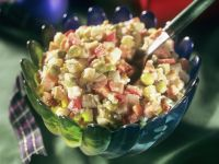 Vegetable Salad with Mayonnaise Dressing recipe