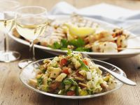 Vegetable Salad with Pita Bread recipe
