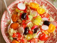 Vegetable Salad with Quinoa recipe