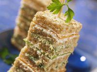 Vegetable Sandwich Towers recipe