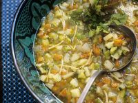 Vegetable Soup Moroccan Style recipe