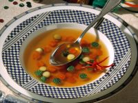 Vegetable Soup with Carrot and Zucchini recipe