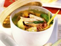 Vegetable Soup with Chicken recipe