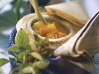 Vegetable Soup with Coconut Milk and Lemongrass recipe