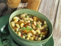 Vegetable Soup with Macaroni recipe
