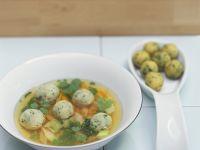Vegetable Soup with Marrow Dumplings recipe