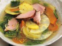 Vegetable Soup with Smoked Pork recipe