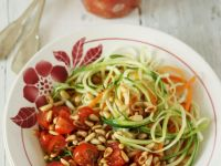 Vegetable 'spaghetti' with Tomato recipe