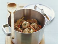 Vegetable Stew with Meatballs recipe