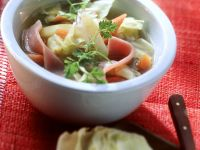 Vegetable Stew with Smoked Pork recipe