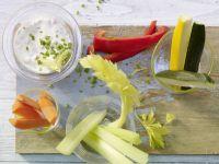 Vegetable Sticks recipe