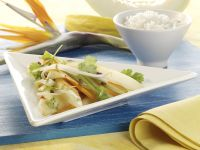 Vegetable Stir-fry with Melon recipe