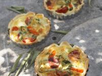 Vegetable Tarts recipe