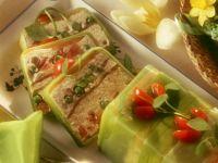 Vegetable Terrine with Smoked Salmon