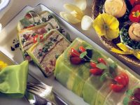 Vegetable Terrine with Smoked Salmon recipe
