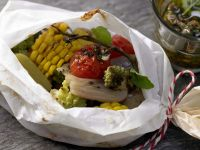 Vegetables Cooked in Parchment recipe