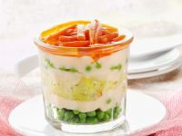 Vegetables with Creamy Sauce