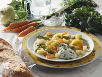 Vegetables with Herb Sauce recipe