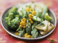 Vegetables with Mung Bean Sauce recipe
