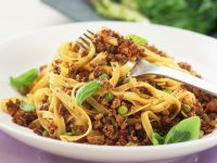 Vegetarian Bolognese with Pasta recipe