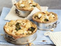 Vegetarian Broccoli and Cauliflower Quiche recipe