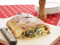 Vegetarian Calzones recipe