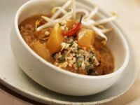 Vegetarian Curry with Sprouts recipe
