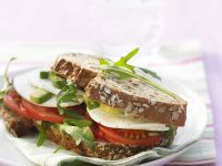 Vegetarian Italian Sandwich recipe