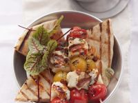 Vegetarian Kebabs with Cheese recipe