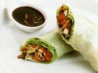 Vegetarian Nems with Soy recipe