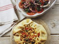Vegetarian Open Tart recipe