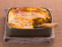 Vegetarian Pasta Pie recipe