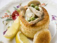 Vegetarian Pastry Cups recipe