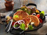 Vegetarian Patties with Spelt and Feta recipe