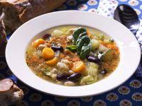 Vegetarian Pesto Soup recipe