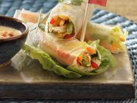 Vegetarian Rice Paper Wraps recipe