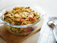 Vegetarian Rotini Pasta Bake recipe