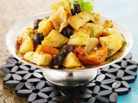 Vegetarian Tagine with Potatoes and Carrots recipe