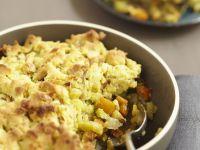 Veggie and Soft Cheese Gratin recipe