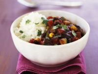 Veggie Chilli Bowl recipe