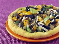 Veggie Flatbread Round recipe