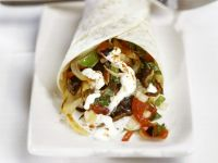 Veggie Mexican Tortilla Wraps recipe