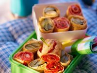Veggie Pancake Wraps recipe