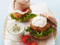 Veggie Patty Sandwiches recipe