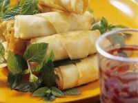 Veggie Spring Wrappers recipe