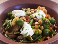 Veggie Tajine with Olives recipe