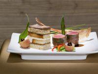 Venison and Prosciutto Rolls with Balsamic Glaze recipe